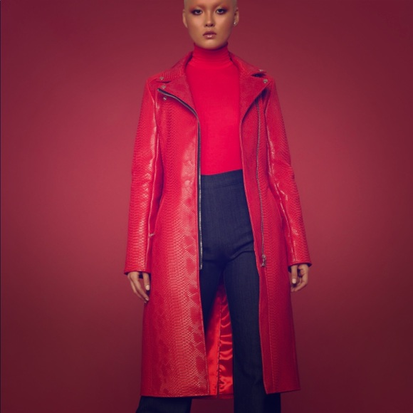 Fashion Nova Jackets Coats Sold Cardi B Faux Leather Jacket